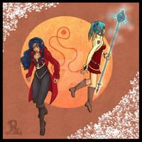 Eeris and Zenia
