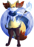 [Present] .:Tayo the Braixen:. by XRed-moon