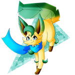 [Commission] .:Leafeon!Blinter:.