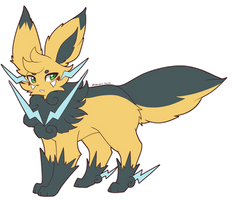 New Boltleaf Design by XRed-moon