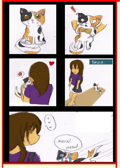 My Tsundere Boyfriend Shamuon X Reader Updated By Kylie: My Cat The Tsundere By Azuritecat On DeviantArt
