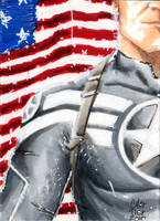 Steve Rogers by idirt