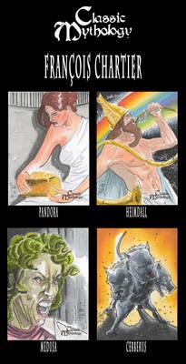 Classic Mythology Sketch cards