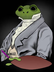 Goya The Frog by tomgastall