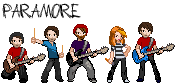 Pixel Paramore by jak-jay