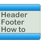 Header footer how to by jak-jay
