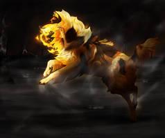 gift art | Burn the whole world down by Saigola