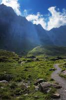 Free Mountain Stock 1 by Aelathen