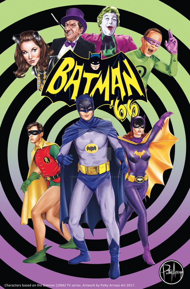 Batman '66 by Patty Arroyo Art by pattyarroyo
