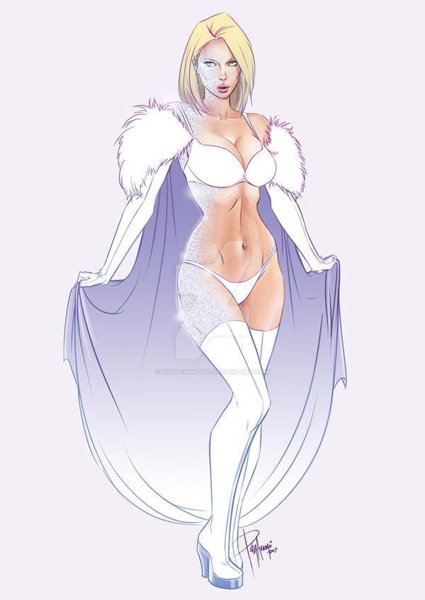 Emma Frost by Patty Arroyo Art by pattyarroyo
