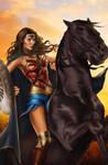 Wonder Woman Gal Gadot by Patty Arroyo Art