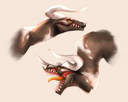 Bull dragon by sshooni
