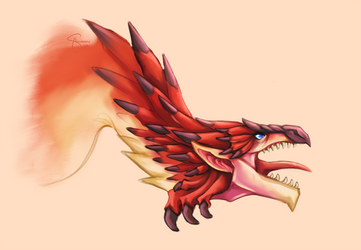 Rathalos by sshooni