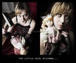 The little girl dilemna by AsHeFTgrafiZ
