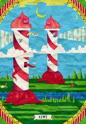 Sweet lighthouse by Kiwi-Mystere