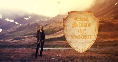 Emma Swan The Savior-Wallpaper by Kiwi-Mystere