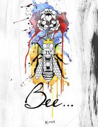Bee... by Kiwi-Mystere