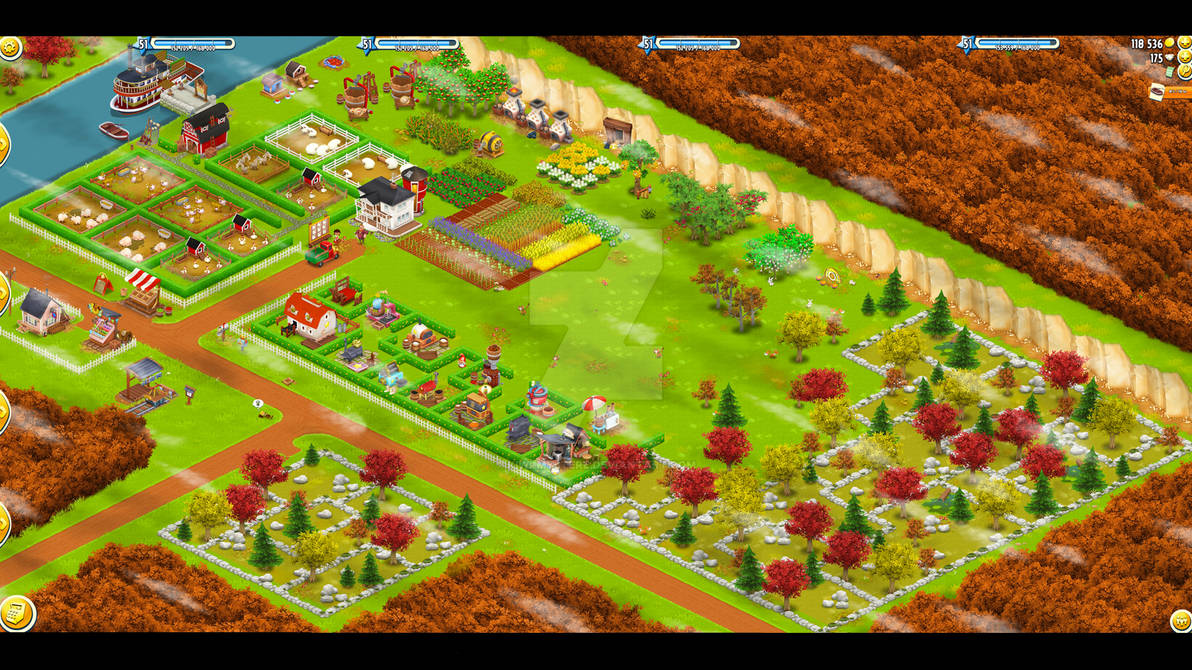 La fricassee farm hay day wallpaper