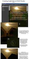 Creating LightSets in DAZ pt2