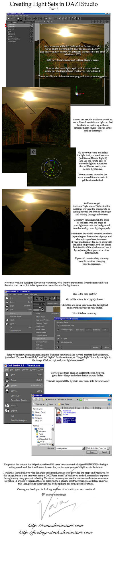 Creating LightSets in DAZ pt2 by firebug-stock