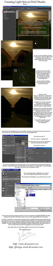 Creating LightSets in DAZ pt2