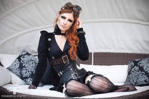 Steampunk shoot #2 by Miss-ecchi