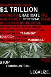 Marijuana Awareness - Trillion by eternalrabbit