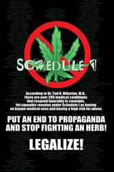 Marijuana Awareness - Sched. 1 by eternalrabbit