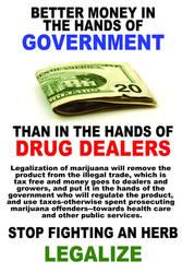 Marijuana Awareness - Money by eternalrabbit