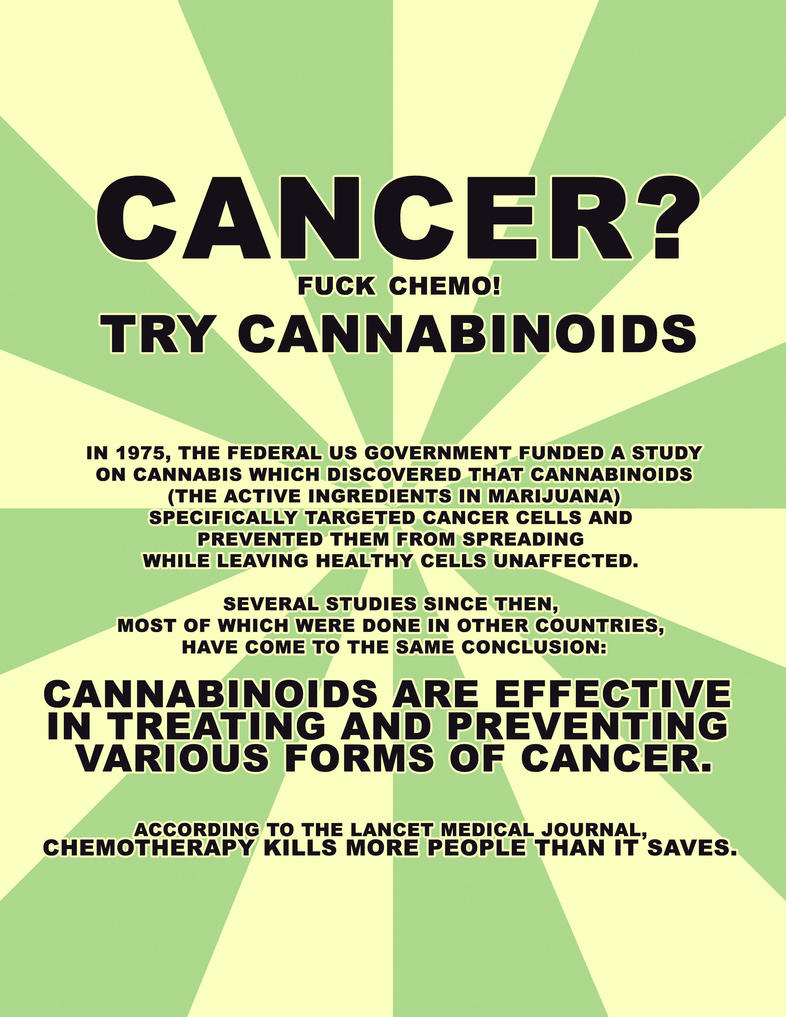 Cancer Cannabinoids by eternalrabbit