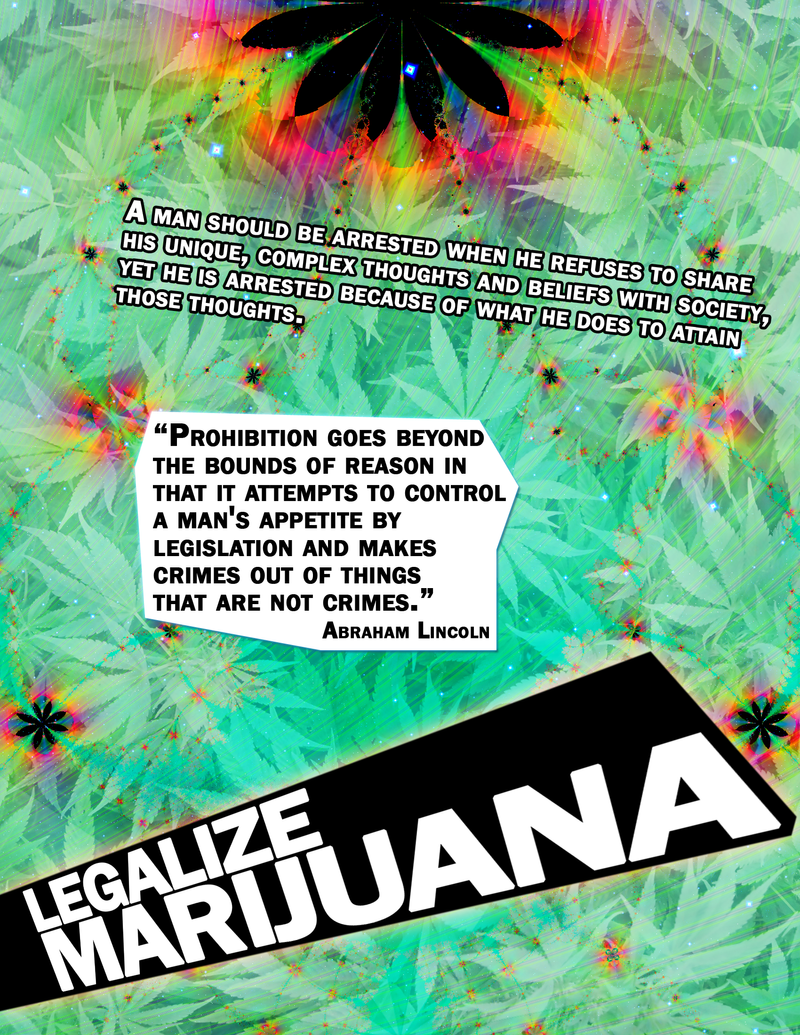 Marijuana Poster by eternalrabbit