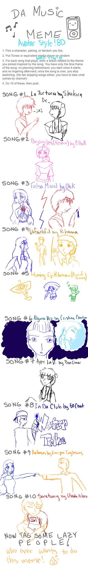 Music Meme - Avatar Style by Lil-StarLight