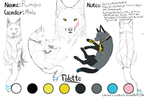 Romulous Character Sheet WIP by Nyroc-The-Wolfeh