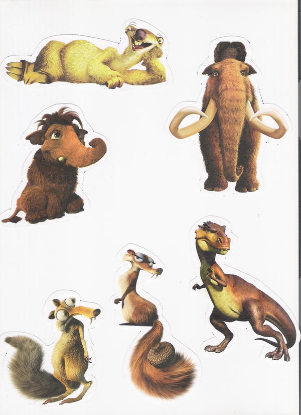 This is a picture of Sly Ice Age Character Pictures