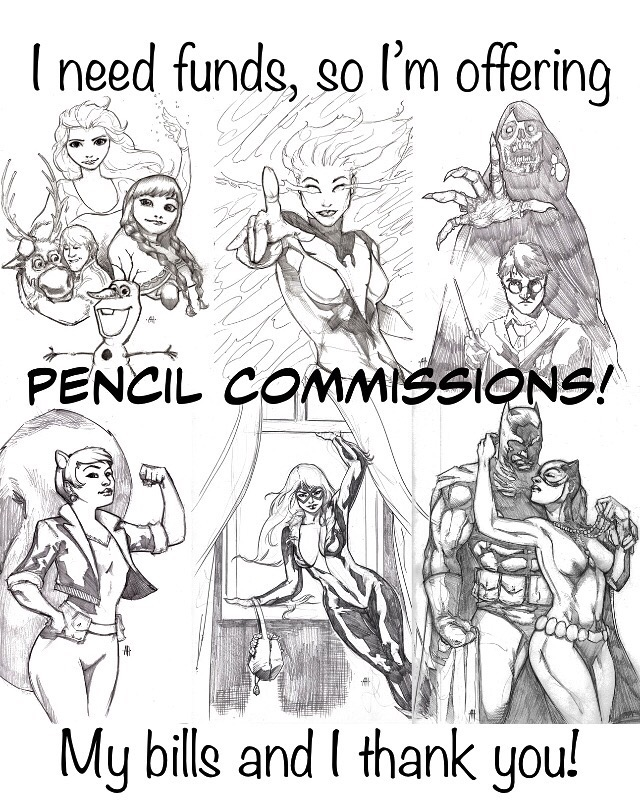 Commissions are open  by Anmph