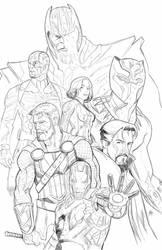 Avengers Endgame fan art