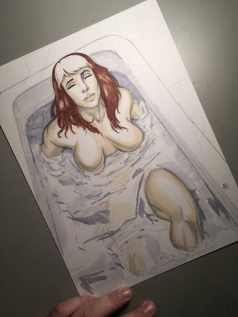 Rogue in a bath by Anmph