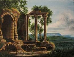 Ancient Ruins by Cirandel