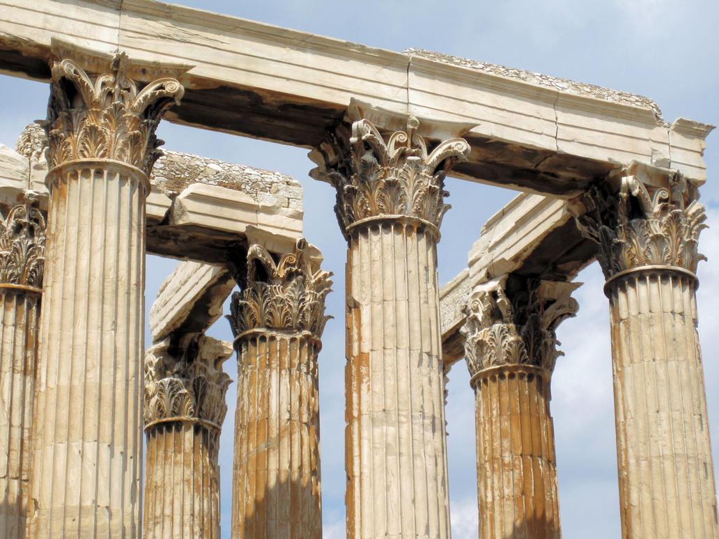 Temple of Olympian Zeus by Cirandel on DeviantArt