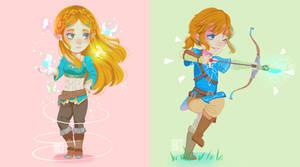 |FA| Link + Zelda