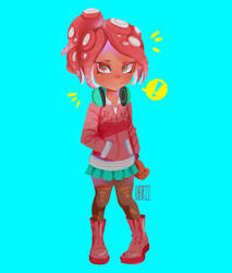 |FA| octoling by cherriielle