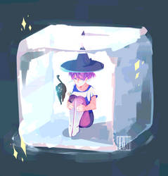 |P| Ice Witch by cherriielle