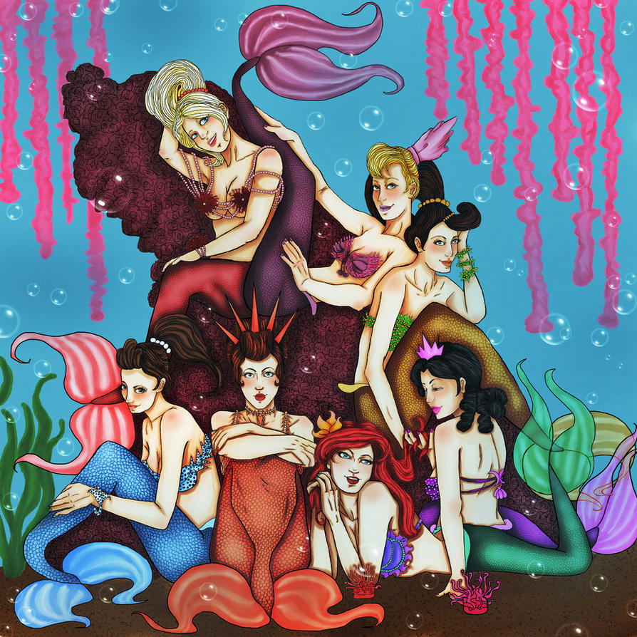 The Daughters Of Triton by TheREALRoseBride