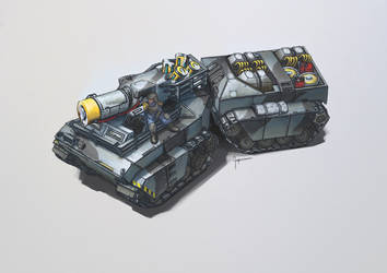 Fenris Cryo Tank by Ingraban