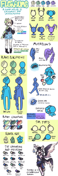 Floraum Traits Sheet: new closed species by star-stickers