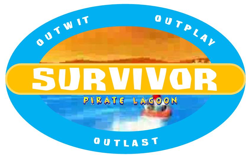 Survivor: Pirate Lagoon Logo by crazypackersfan