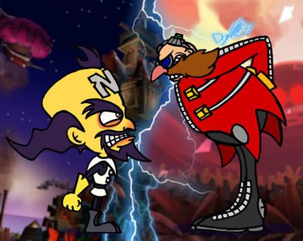 Clashing Evil Minds