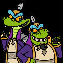 The Komodo Brothers