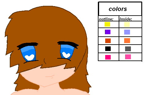 Anime face base with hair by DakotaArt on DeviantArt