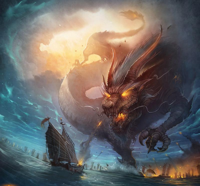 dragon by aiyayo